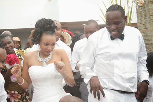 Rufftone with his wife