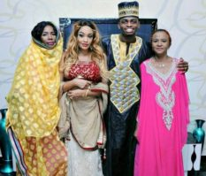 Diamond, Mama Diamond, Zari and-Zaris-mother in a file photo