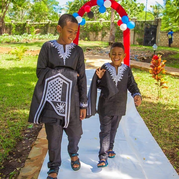 Akothee's sons birthday party