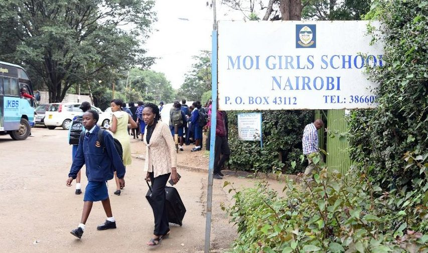Students of Moi Girls going home after CS Amina Mohammed ordered its closure