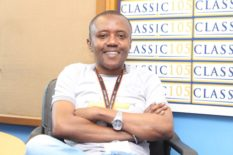 maina kageni poses with white shirt
