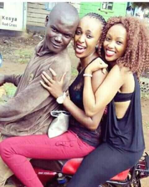 boda with light skin girls