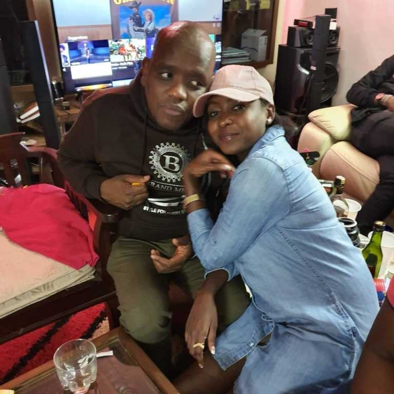 Jacque Maribe and Dennis Itumbi together