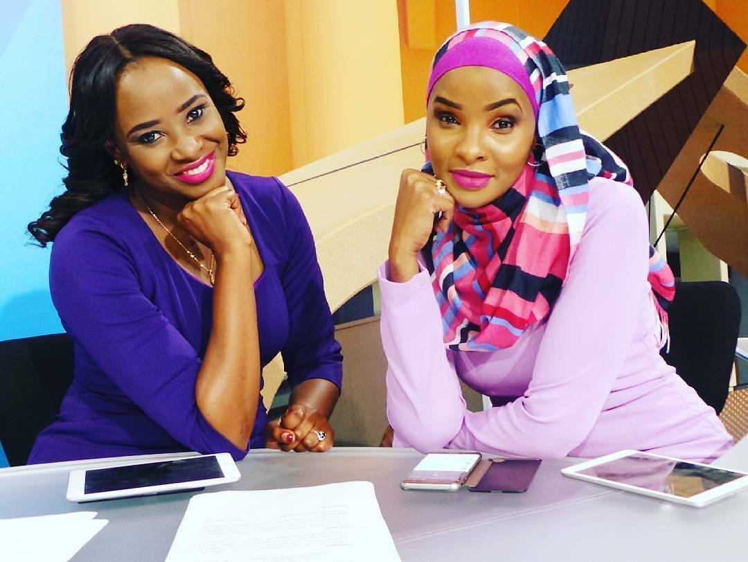 Kanze Dena and Lulu Hassan in the past