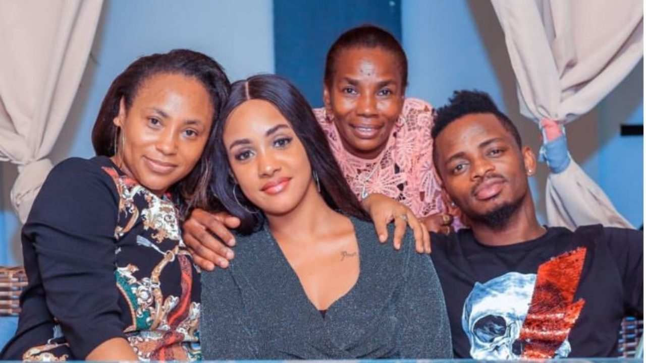 Esma Platnumz with Diamond and Tanasha and Sandra