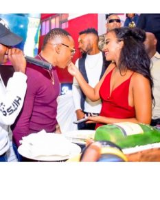Otile Brown with Nabayet in the past