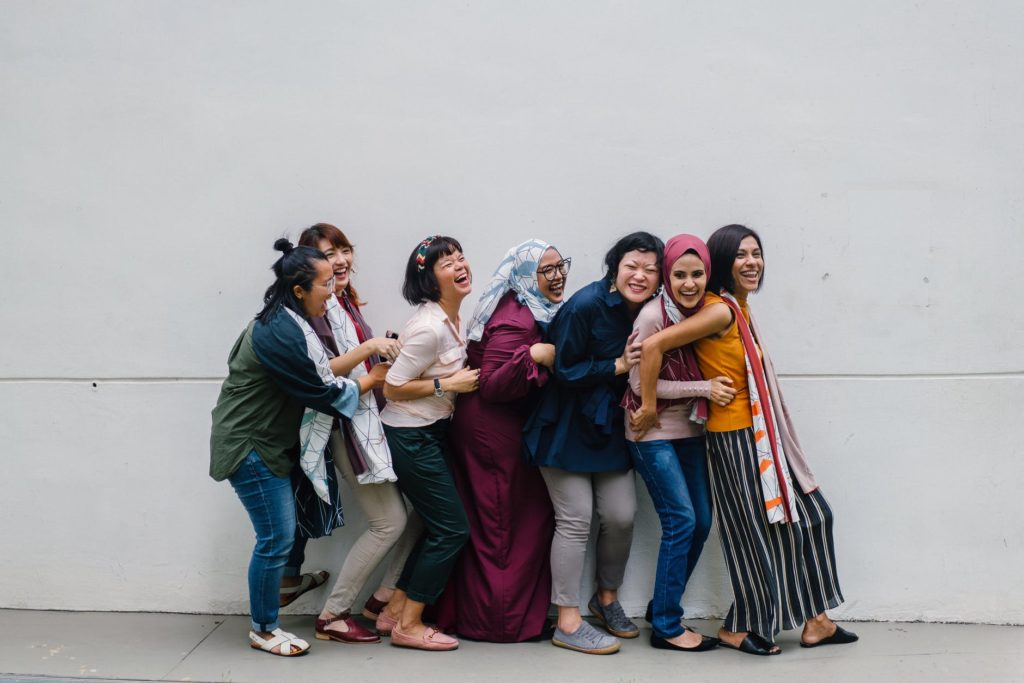 Women together