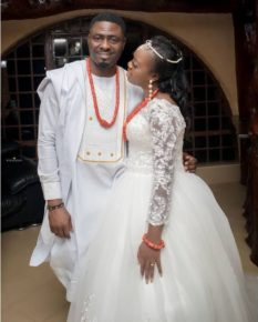 Ruth Matete with her man
