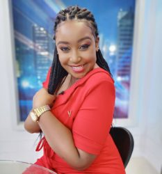 Betty Kyallo in red