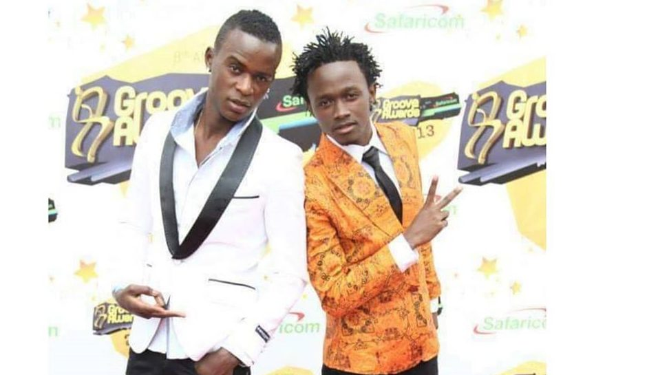 Bahati with Willy Paul in the past