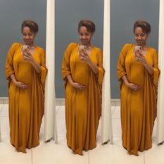 Grace Msalame pregnancy