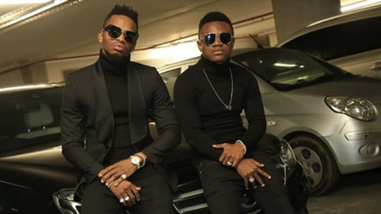 Mbosso with Diamond Platnumz