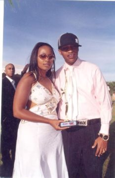 Prezzo with Sheila-Mwanyigha in the past