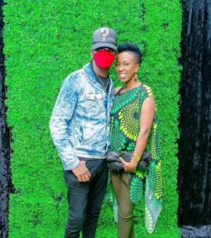 Wahu Kagwi and Nameless together