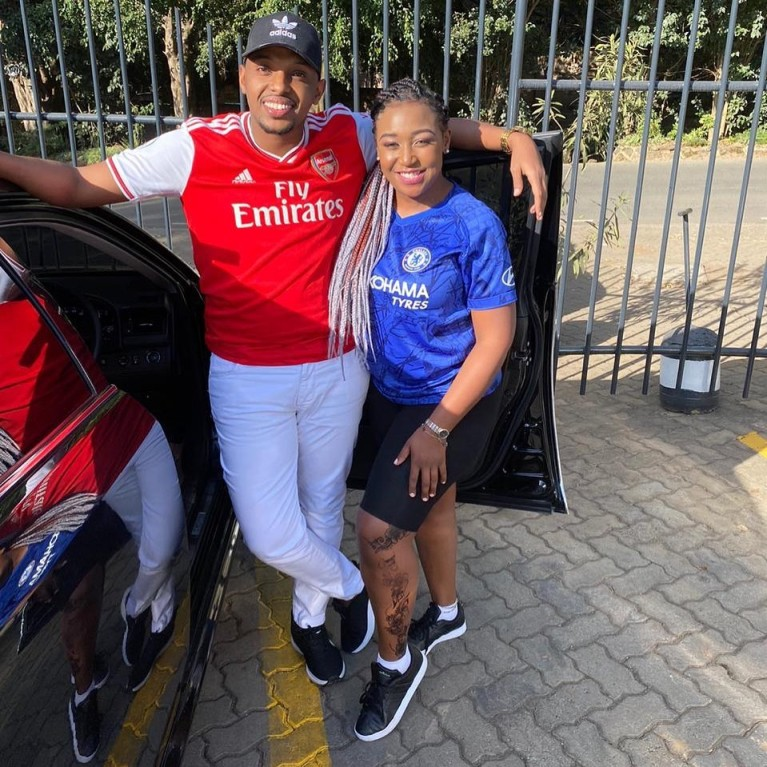 Betty Kyallo with Alinur Mohamed