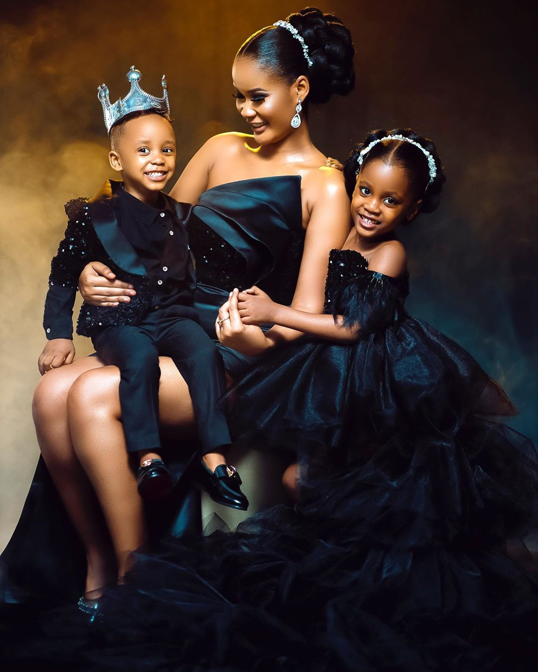 Hamisa Mobetto with her two kids