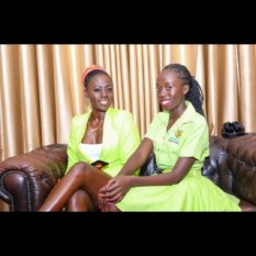 Akothee with Vesha Okello