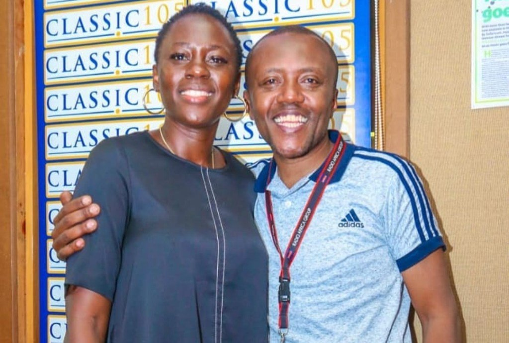 Akothee with Maina Kageni 1