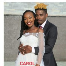 Eric Omondi and Carol of Bandbeca