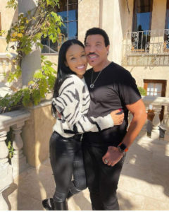 lionel and girlfriend