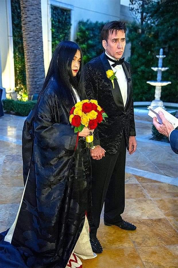 nicholas cage marry 5times