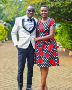 Guardian Angel proposing to Esther Musila