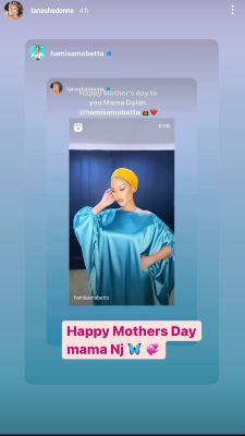 Hamisa mothers day notice May 9th