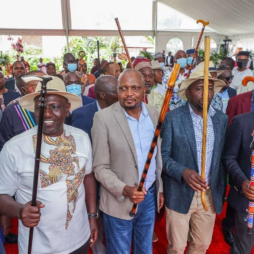 Politicians join Ruto at his daughter's engagement party